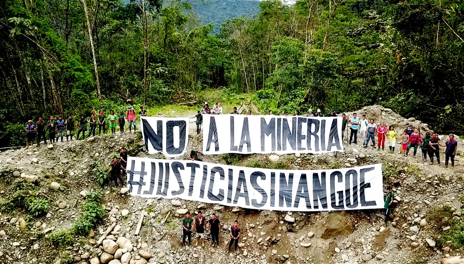 #Justiciasinangoe – No a la minería