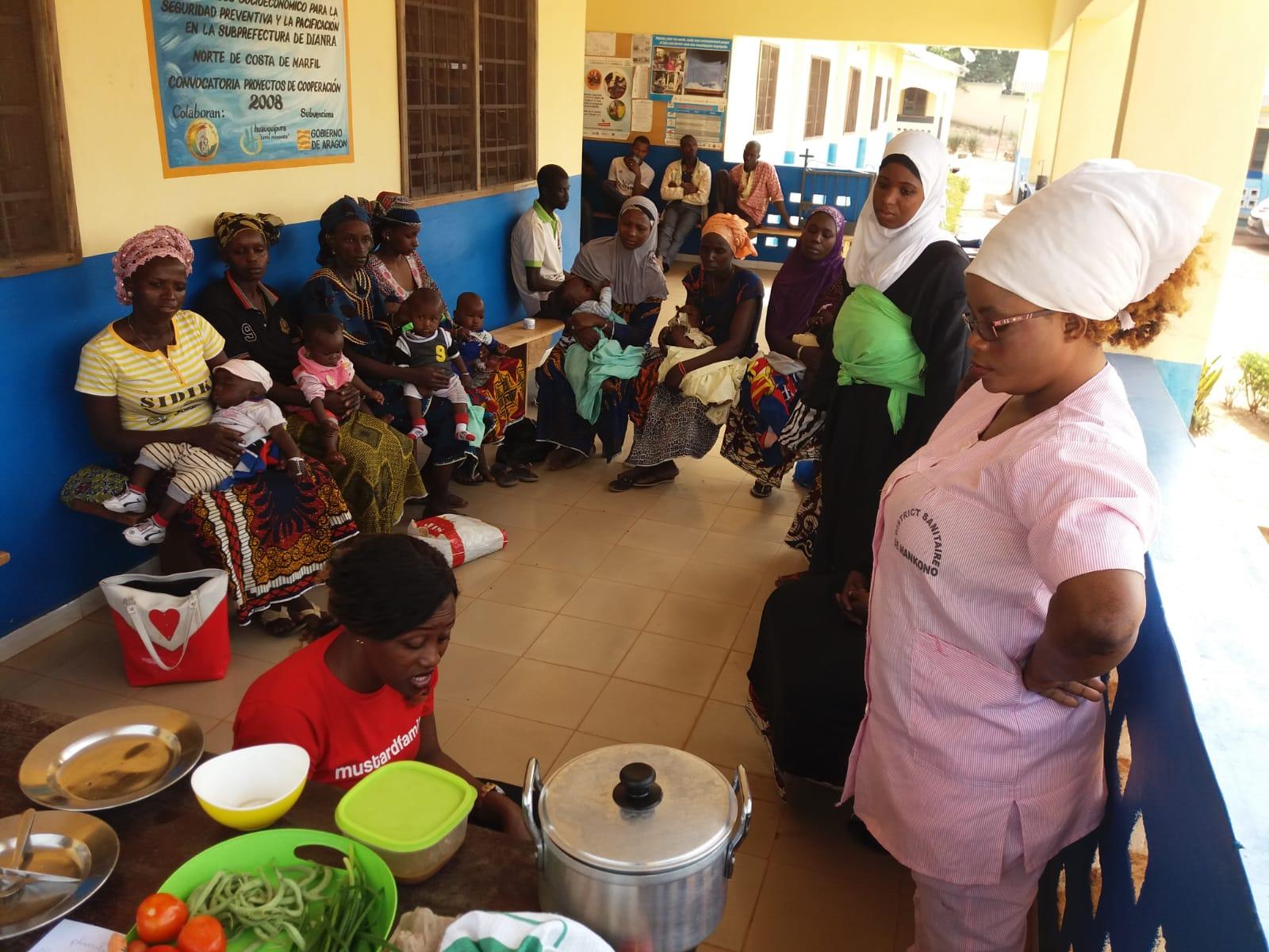 Mejora de la atención sanitaria básica en la región de Worodougou-Béré