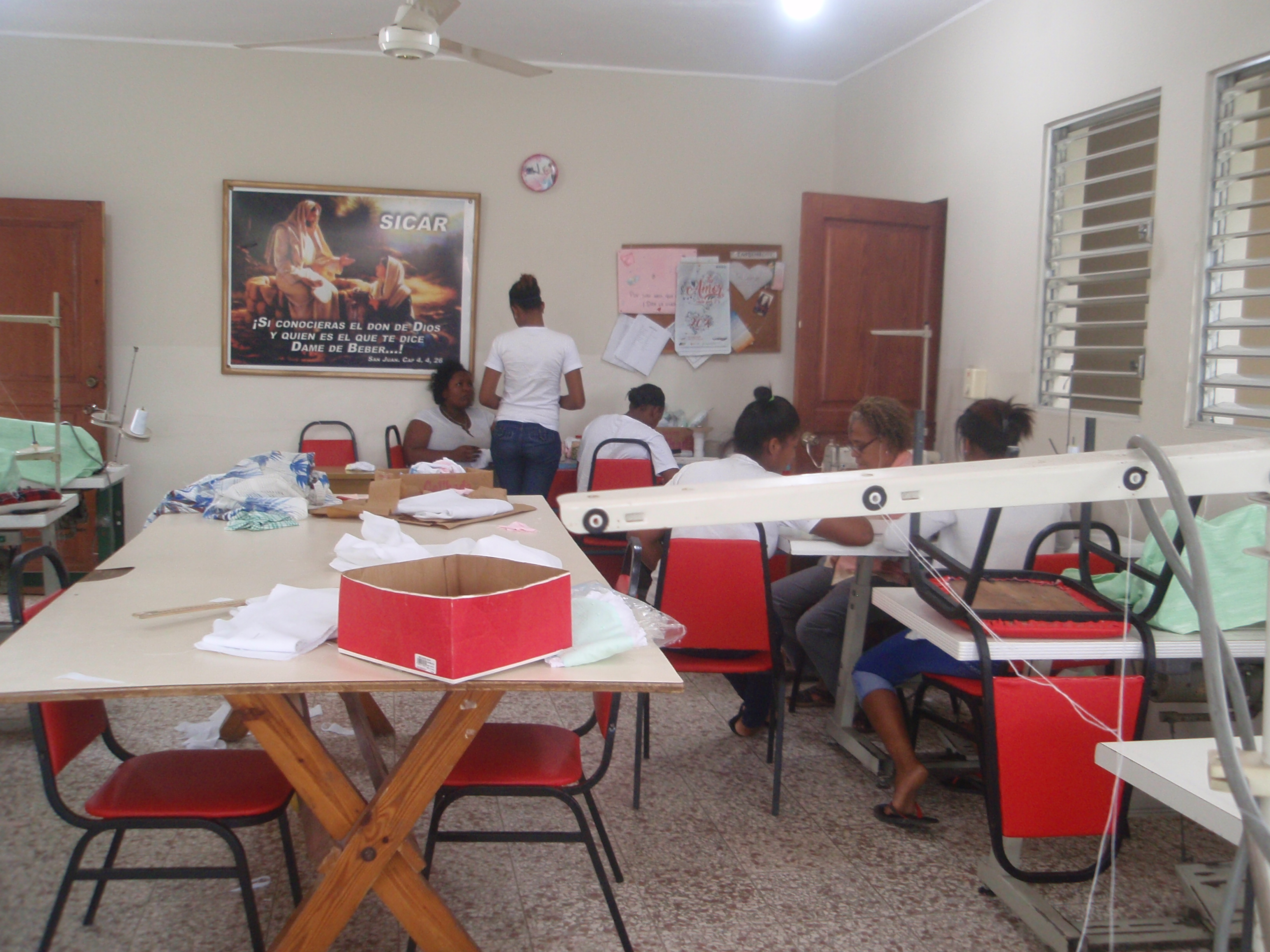 Intervención social con mujeres víctimas de explotación sexual y lucha contra la trata en Santo Domingo