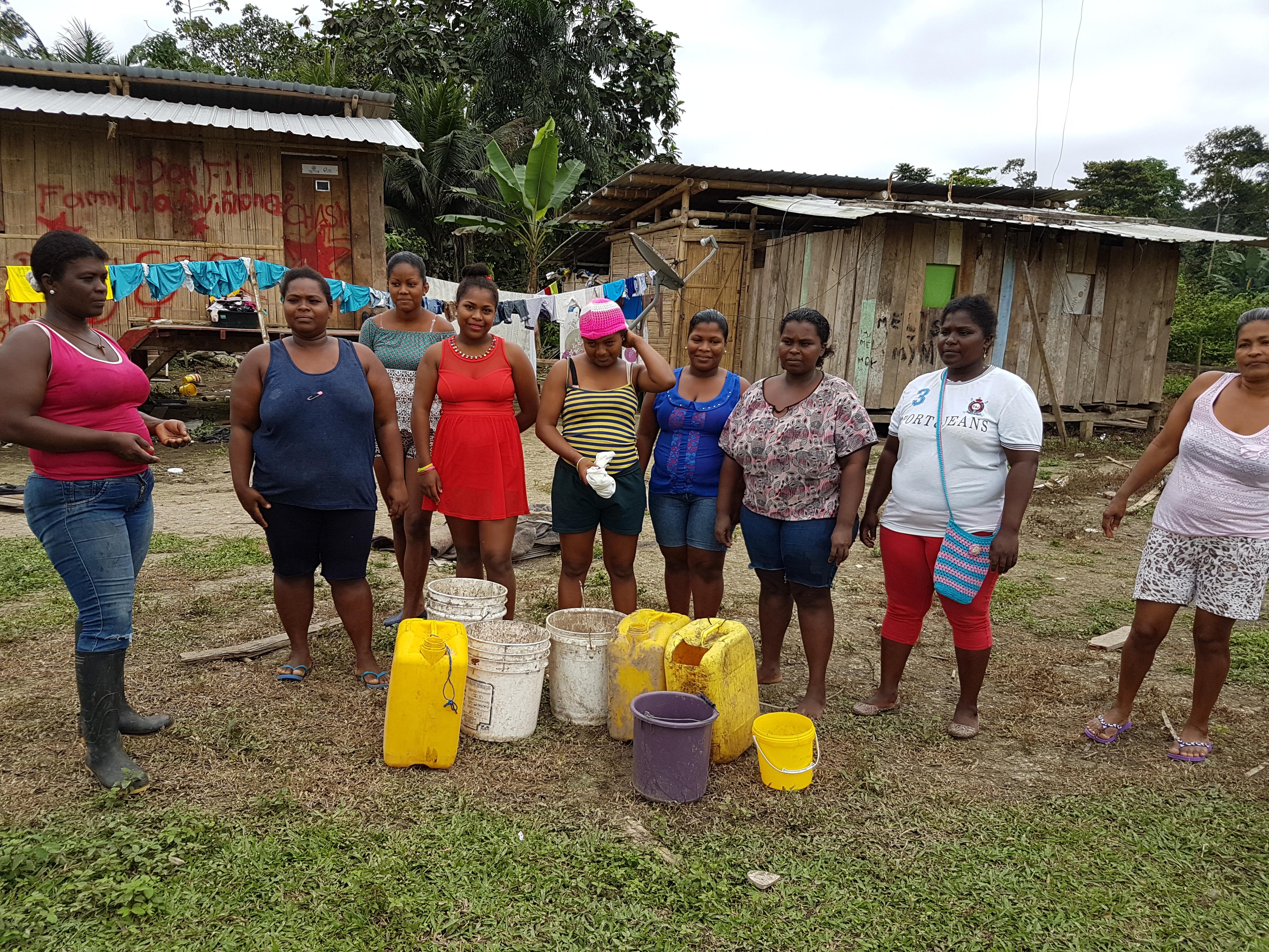 Reactivación socio-productiva y comercial post terremoto en Esmeraldas