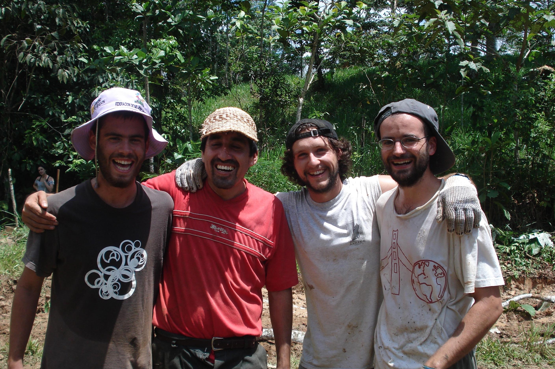 Miguel Fustero, Nacho Ruiz y Luis Ballesteros