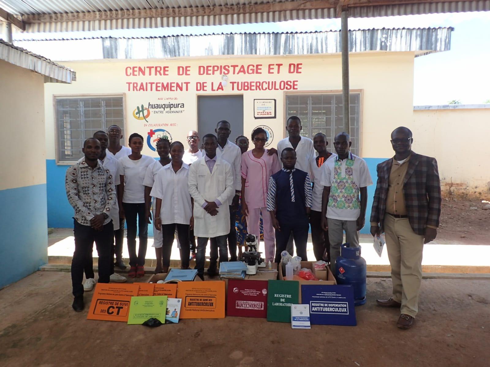 Asistencia sanitaria para la prevención de tuberculosis