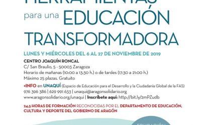 """""""Claves y herramientas para una educación transformadora"""""""
