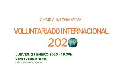 Formación de voluntariado internacional