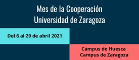 Programa del Mes de la Cooperación de la UNIZAR