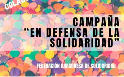 Carta de la presidenta de la FAS sobre la Campaña en defensa de la Solidaridad