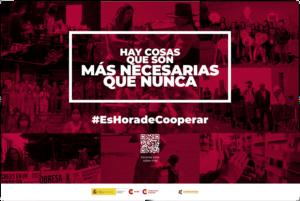 Campaña «Es hora de Cooperar, Aragón Coopera»
