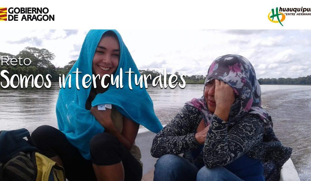 «Somos interculturales» reto fotográfico en Hunteet